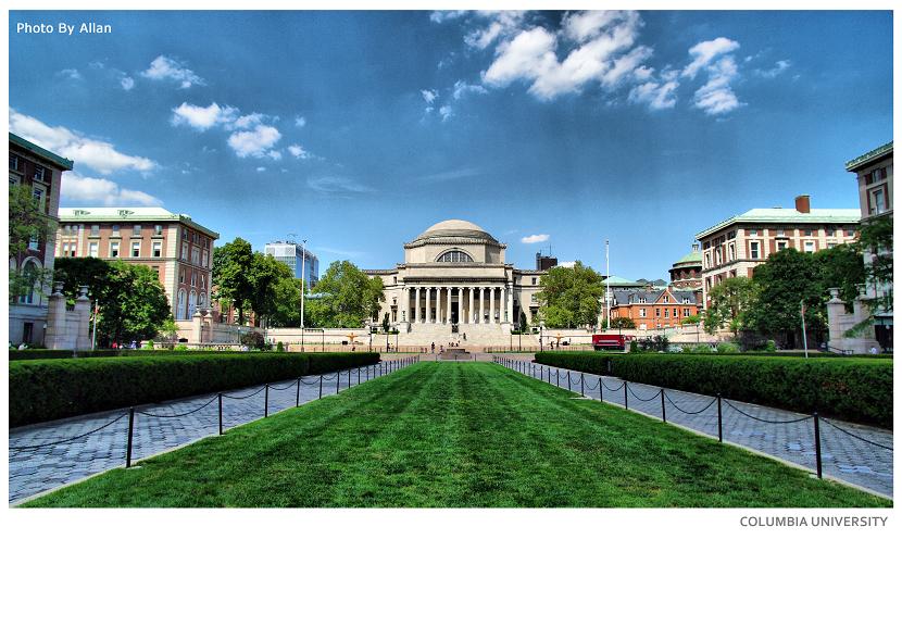 世界名校 哥伦比亚大学 高清图片
