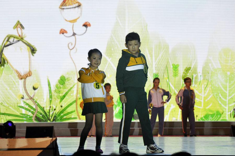 首届全国学生装设计大赛,优卡荣膺多项荣誉